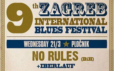 9th Zagreb International Blues Festival – Klub Pločnik, Zagreb 🗓 🗺