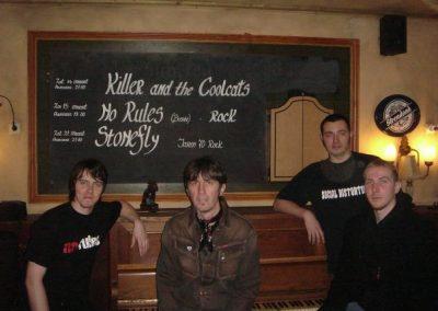 No Rules 2009 Holandija tour